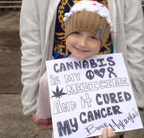 """Cannabis cured my cancer"""